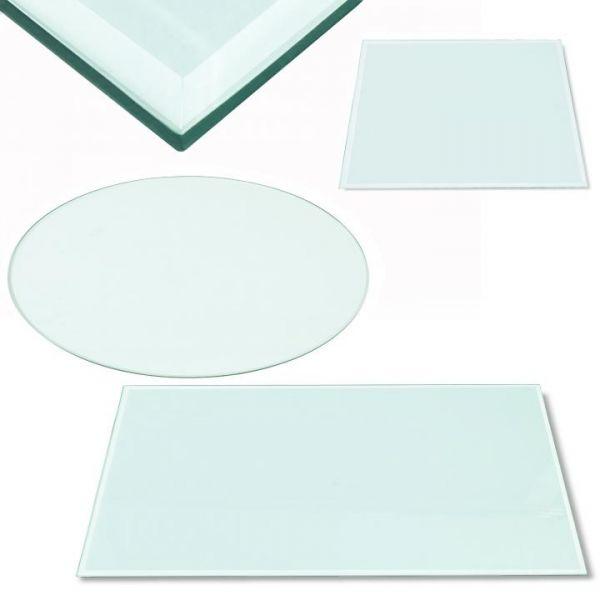 Rapid Teck® Tischplatte aus gehärtetem Glas Übersicht