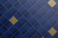 Z7 - Mosaik Blau & Gold