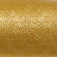 091 Gold Honigwaben