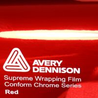 Avery Red Chrome