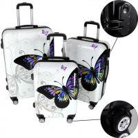 "Rapid Teck® Hartschalenkoffer ""Butterfly"""