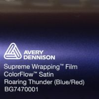Avery CF Satin Roaring Thunder Blue Red