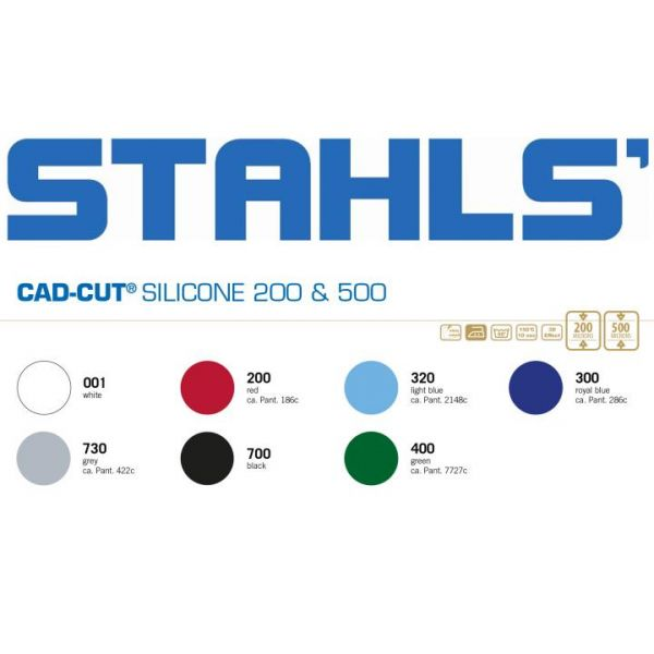 Stahls® CAD-CUT® Silicone 200 Silikonfolie