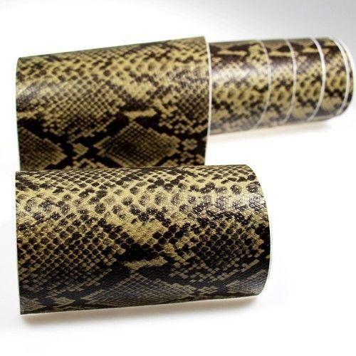 Rapid Teck® 3D Schlangenleder Autofolie Übersicht