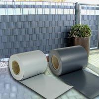 Rapid Teck® Doppelstabmattenzaun-Sichtschutzstreifen