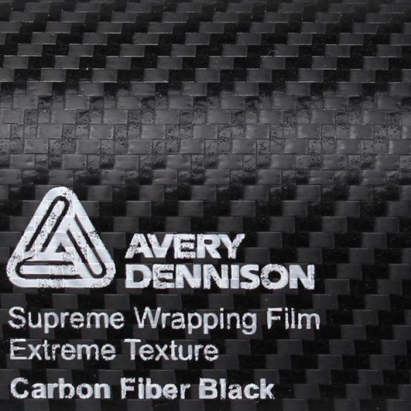 Avery Dennison®  Autofolie Extreme Texture Carbon schwarz