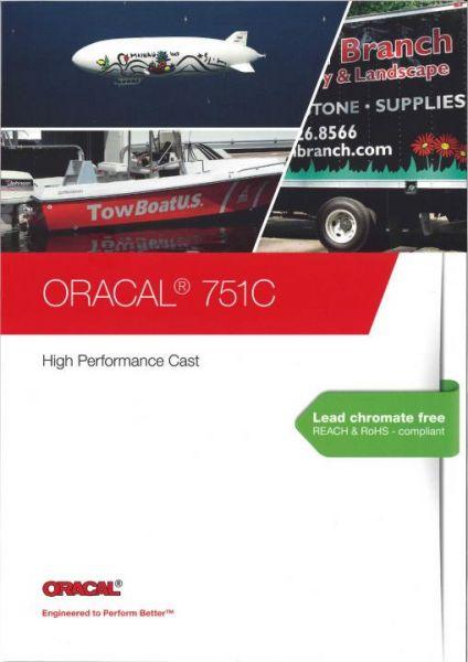 Oracal® 751c High Performance Cast Plotterfolie Farbkarte