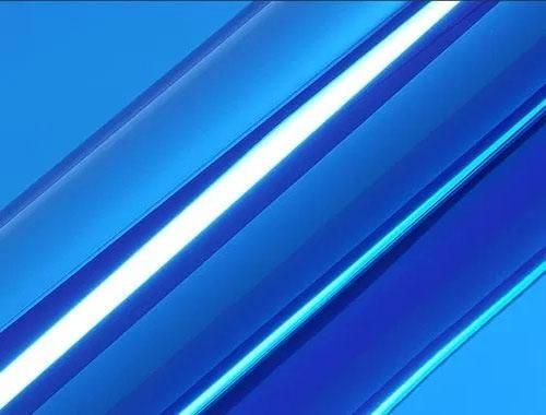 Hexis® SKINTAC HX30SCH05B Super Chrome Blau Glanz