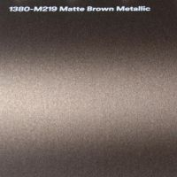 3M M219 Matte Brown Metallic