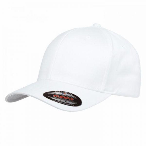 Flexfit Baseballmütze Weiß