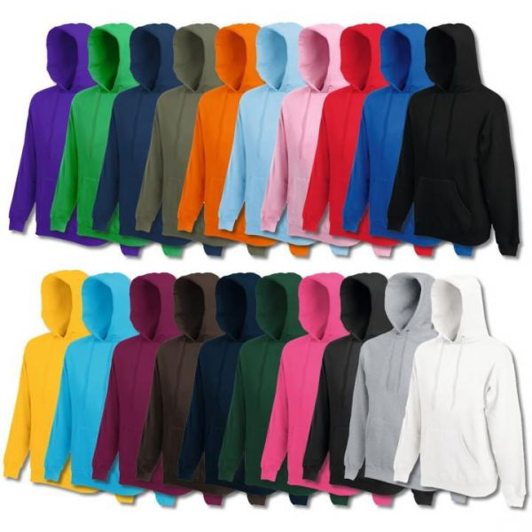 Fruit of the Loom® Classic Hooded Sweat Weiß