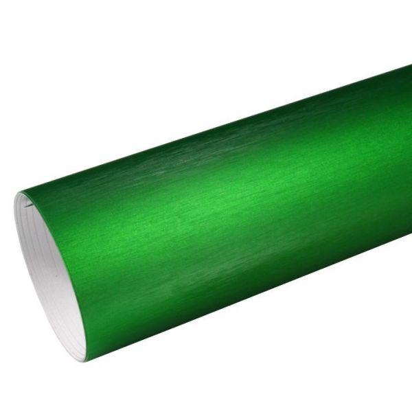 Rapid Teck® Premium Chrom Brushed Autofolie Grün