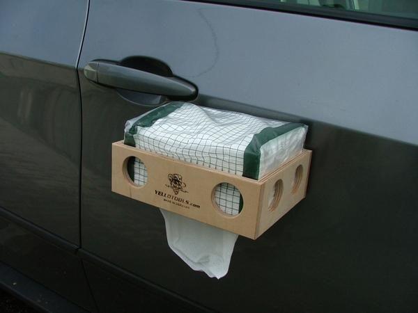 Yellotools WipeBox Mag Papiertuchbox mit Magnethalterung