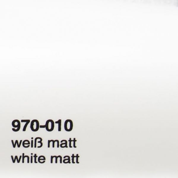 Oracal-970RA-010-Weiss-Matt-Autofolie