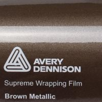 Avery Gloss Brown Metallic