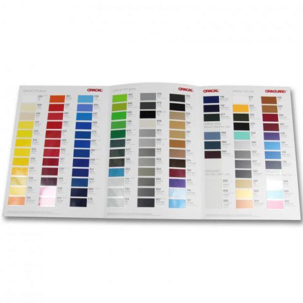 Oracal® 970RA Autofolie Farbkarte