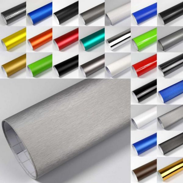 Rapid Teck® Premium Brushed Autofolie Schwarz