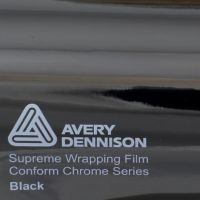 Avery Black Chrome