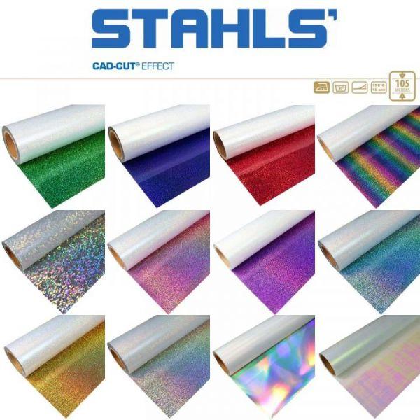 Stahls® CAD-CUT® Effect 904 Sparkle Red Textilfolie
