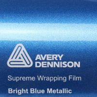 Avery Gloss Bright Blue Metallic