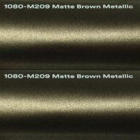 3M M209 Matte Brown Metallic