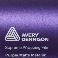 Avery® Supreme Wrapping Film Purple Matte Metallic