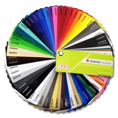 Hexis HX 20000 Farbfächer