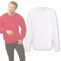 Fruit of the Loom® Sweatshirt Weiß