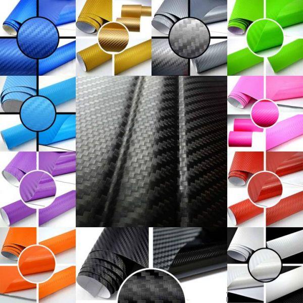 Rapid Teck® 3D Carbon Autofolie Weiß