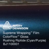 Avery CF Gloss Rushing Riptide Cyan Purple
