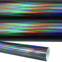 Rapid-Teck-Rainbow-Oil-Chrom_schwarz-Autofolie