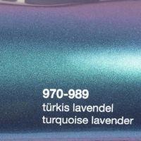 989 Türkis-Lavendel Glanz
