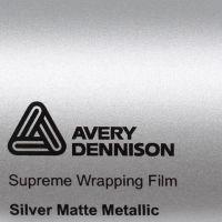 Avery® Supreme Wrapping Film Silver Matte Metallic