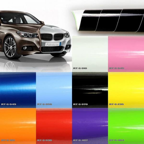 Rapid Teck® Premium Hochglanz Autofolie Weiß