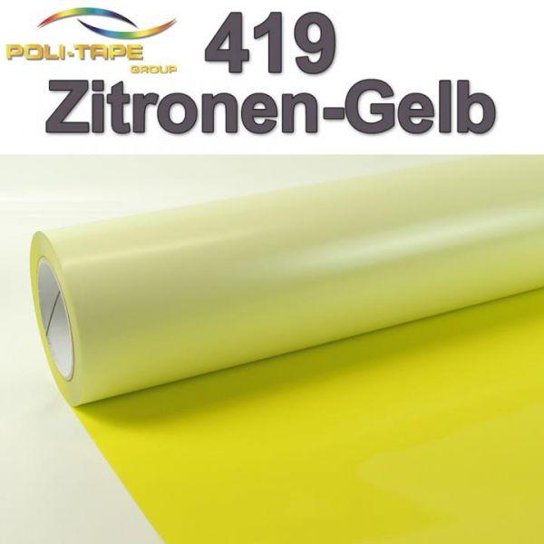 Poli-Flex® Premium 419 Zitronengelb