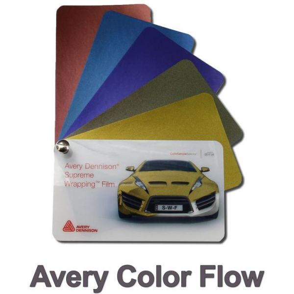 Avery Dennison ColorFlow Autofolie Fresh Spring Gold/Silver Glanz