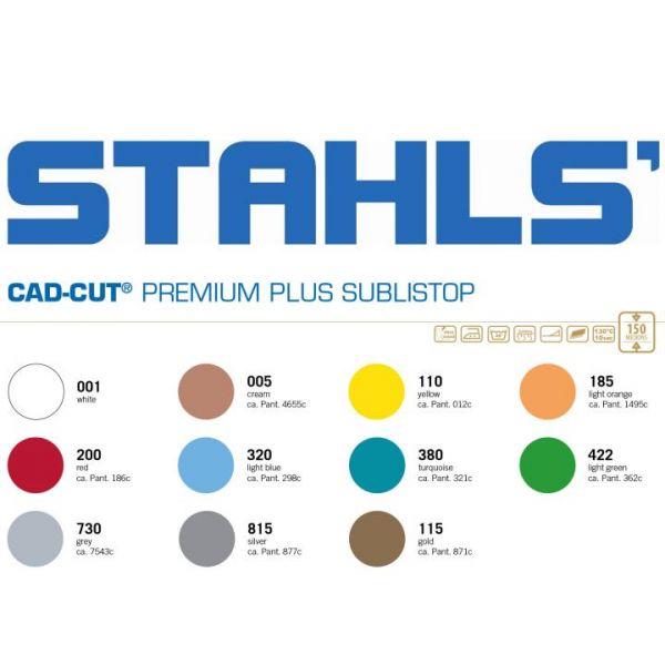 Stahls® CAD-CUT® Premium Plus Sublistop Flexfolie