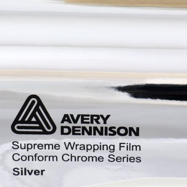 Avery Dennison Conform Chrome Autofolie Farbfächer
