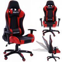 Rapid Teck® GT Race Chair Schwarz-Rot