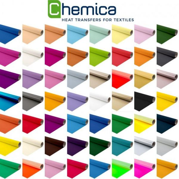 Chemica Hotmark Flexfolie 401 Weiß Folienrolle