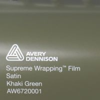 Avery Khaki Green Satin
