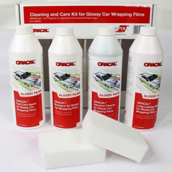 Oracal® Reinigungs- und Pflegeset für Autofolie GLANZ