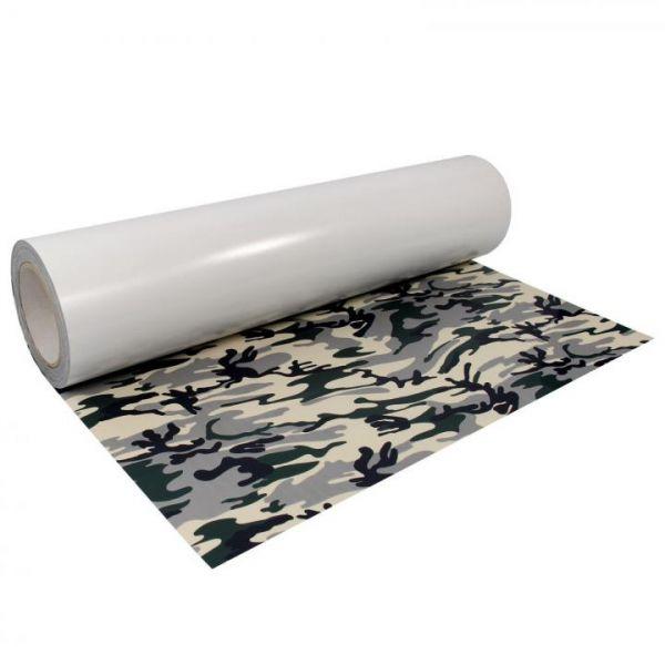 Poli-Flex® Fashion Flexfolie Camouflage NATO