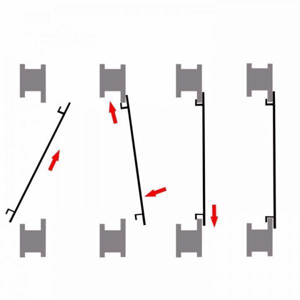 Rapid Teck® Fliegengitter mit Rahmen Übersicht