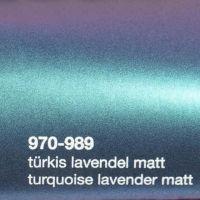 989 Türkis-Lavendel Matt