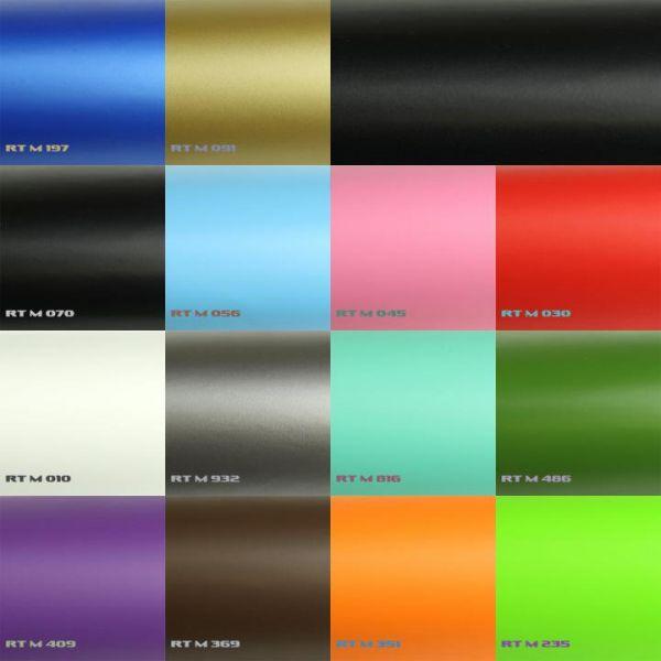 Rapid Teck® Premium Matt Autofolie Weiß