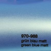 988 Grün-Blau Matt