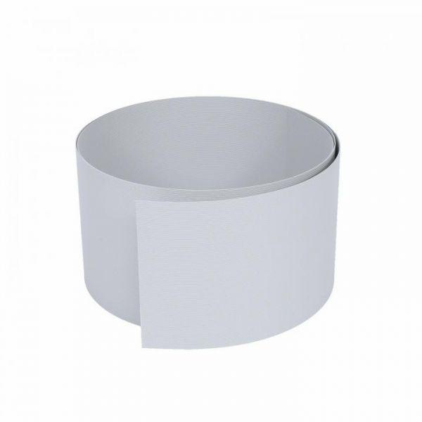 Rapid Teck® Hart-PVC-Sichtschutzstreifen Hellgrau