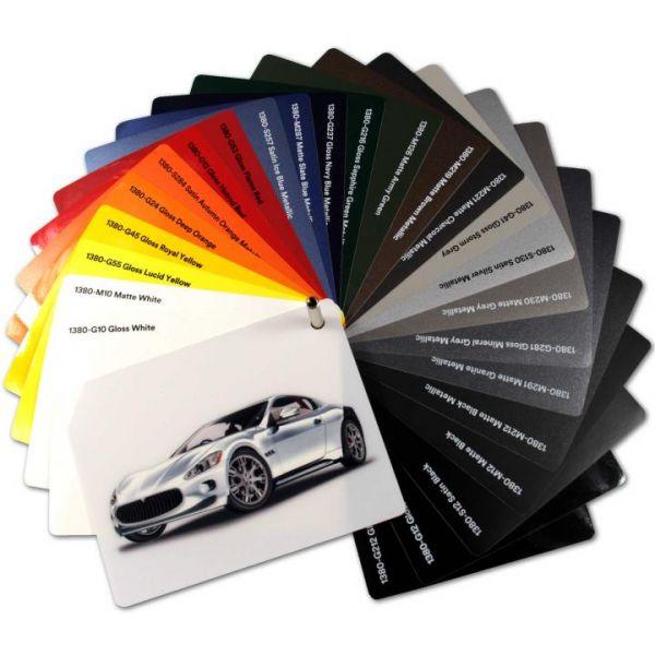 3M 1380 Autofolie G10 Glanz Weiß