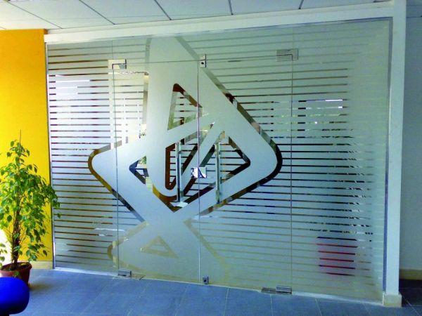 ASLAN®  EL 300 Etched Dryapply Glasdekorfolie